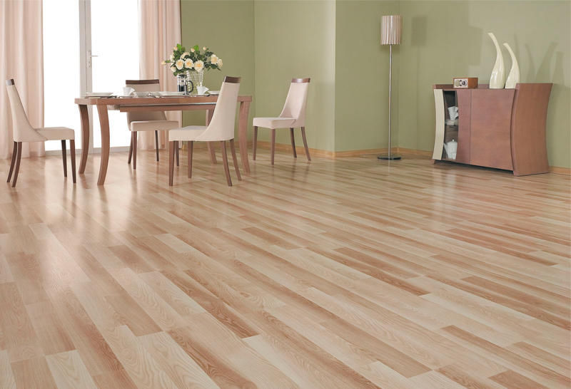 Ash Laminate Flooring Clip On Wood Look Residential D 2022