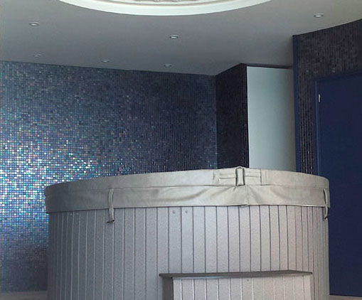 ... Indoor Mosaic Tile / Wall / Glass / Geometric ...