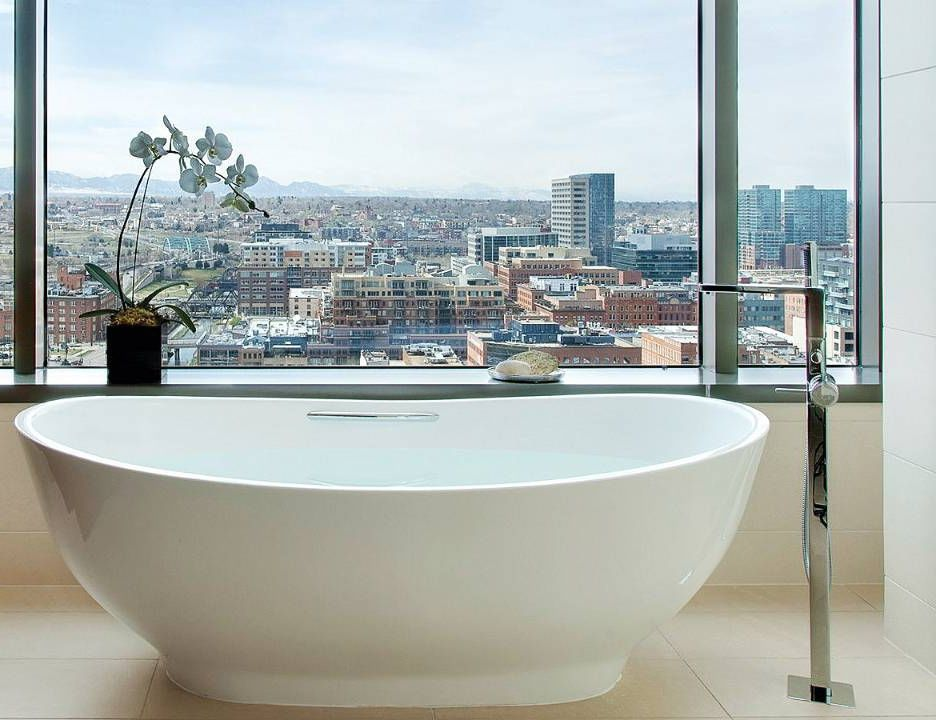 Freestanding bathtub / oval / composite / stone - SLIPPER - Tyrrell ...