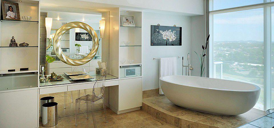 Freestanding bathtub / oval / composite / stone - IMPERIA - Tyrrell ...