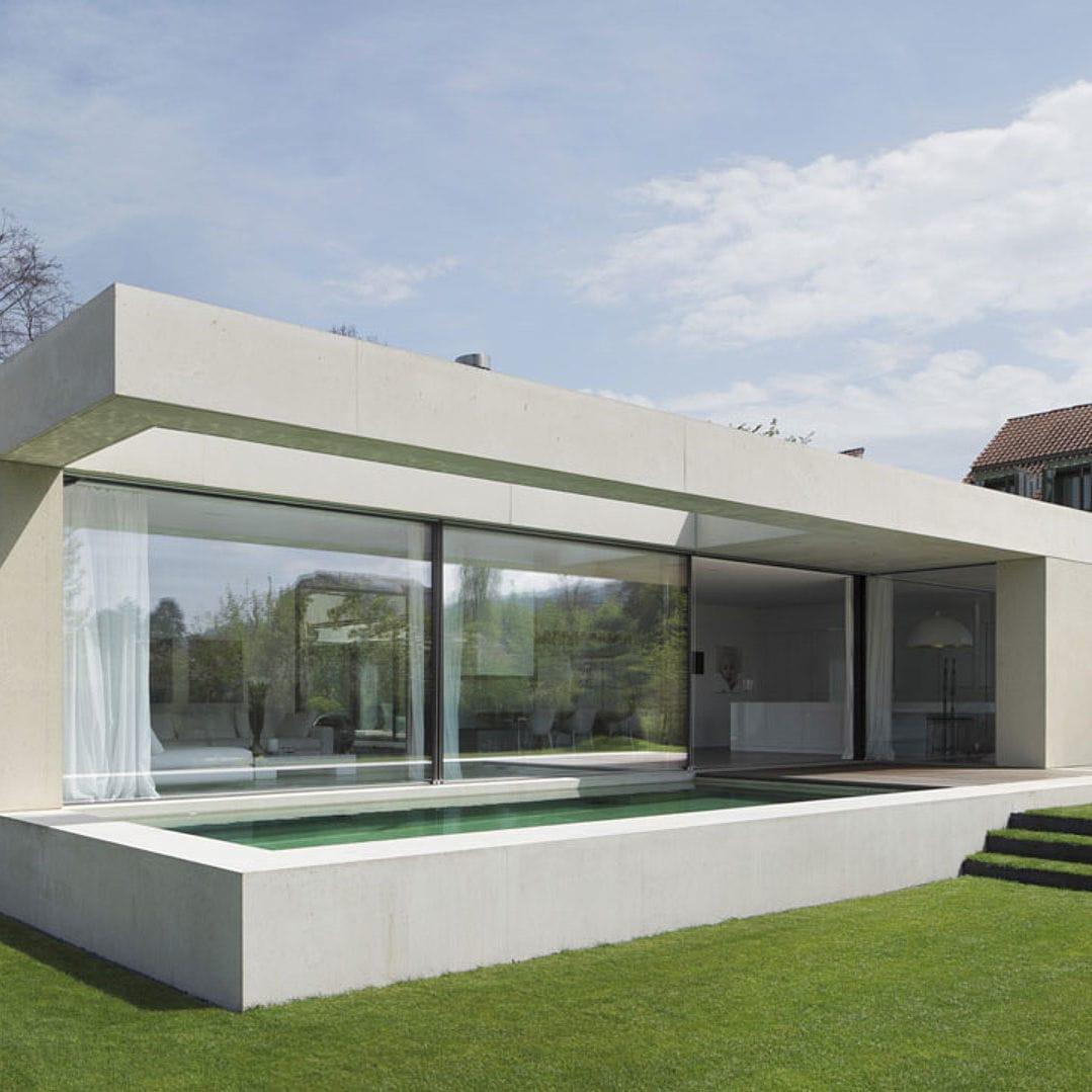Sliding Patio Door / Aluminum / Double Glazed / Insulated   NORTHWEST  SWITZERLAND