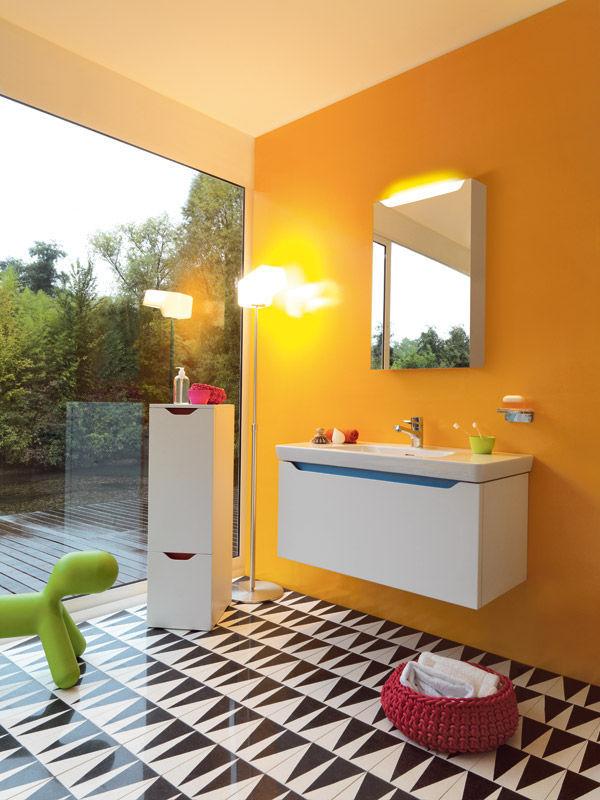 Bathroom tile / living room / wall / floor - BACKGAMMON L - MIPA srl