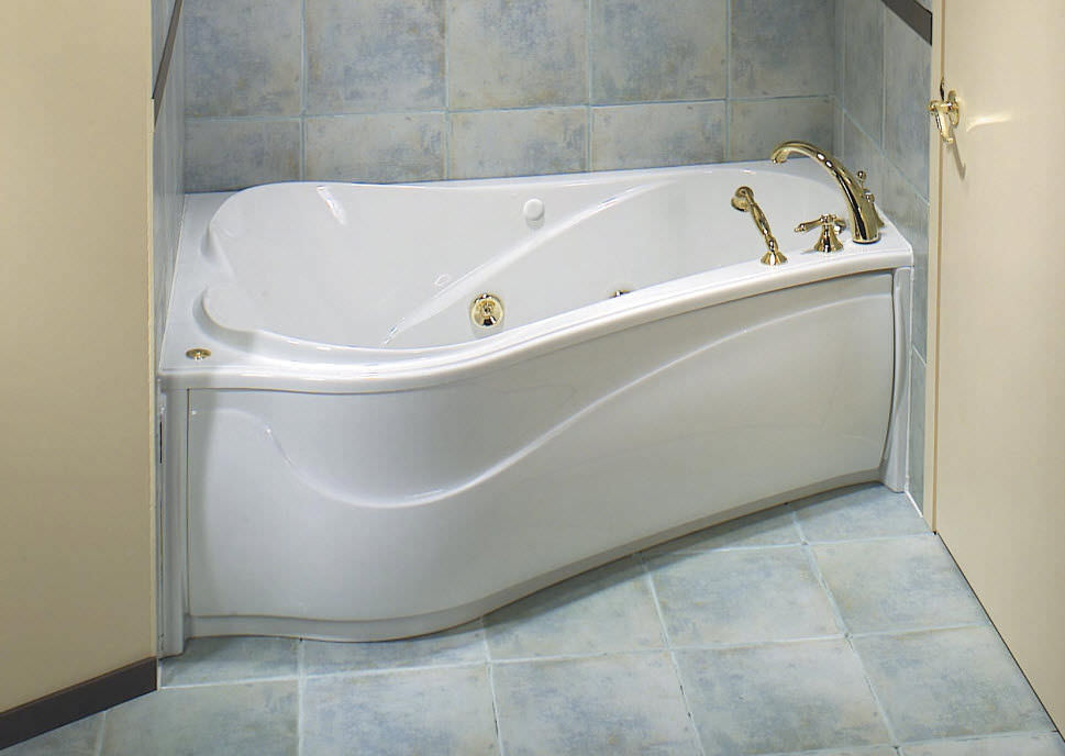 Acrylic bathtub - VICHY 6043 ASY - MAAX bathroom