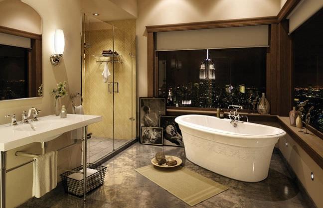 Freestanding bathtub / oval / acrylic - ELLA - MAAX bathroom - Videos