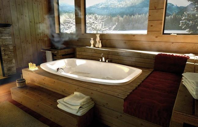 Acrylic bathtub - RHAPSODY - MAAX bathroom