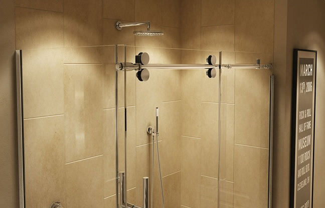 Sliding shower screen - MECHANIX M1 - MAAX bathroom - Videos