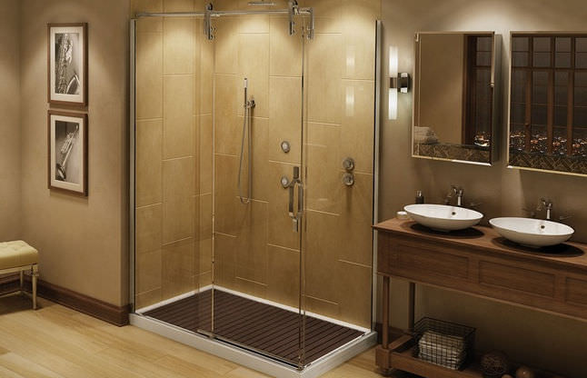Sliding shower screen - MECHANIX M2 - MAAX bathroom - Videos