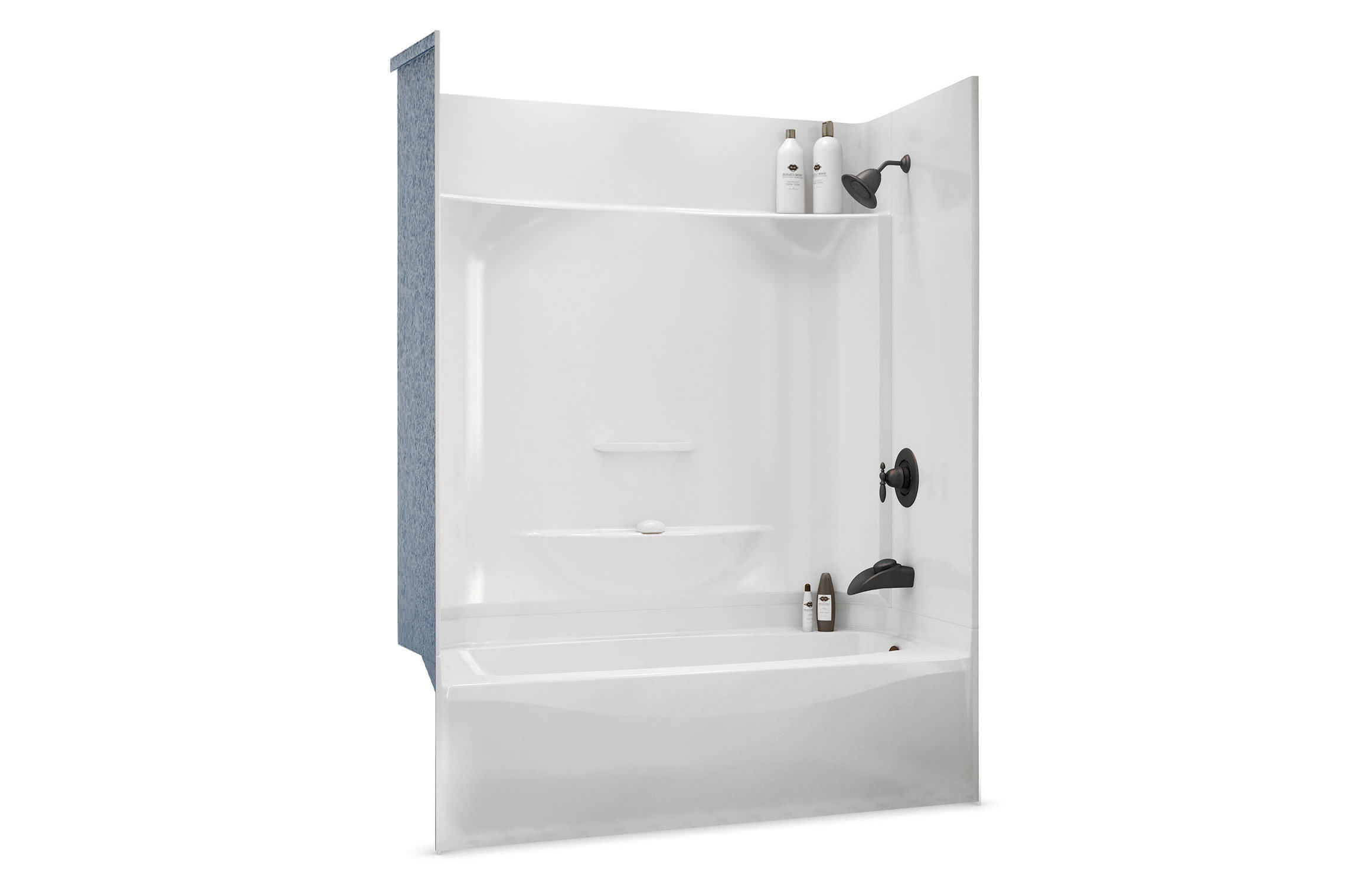 Built in bathtub shower combination   rectangular   acrylic KDTS 3260  MAAX bathroomBuilt in bathtub shower combination   rectangular   acrylic   KDTS  . Maax Tub Shower Combo. Home Design Ideas