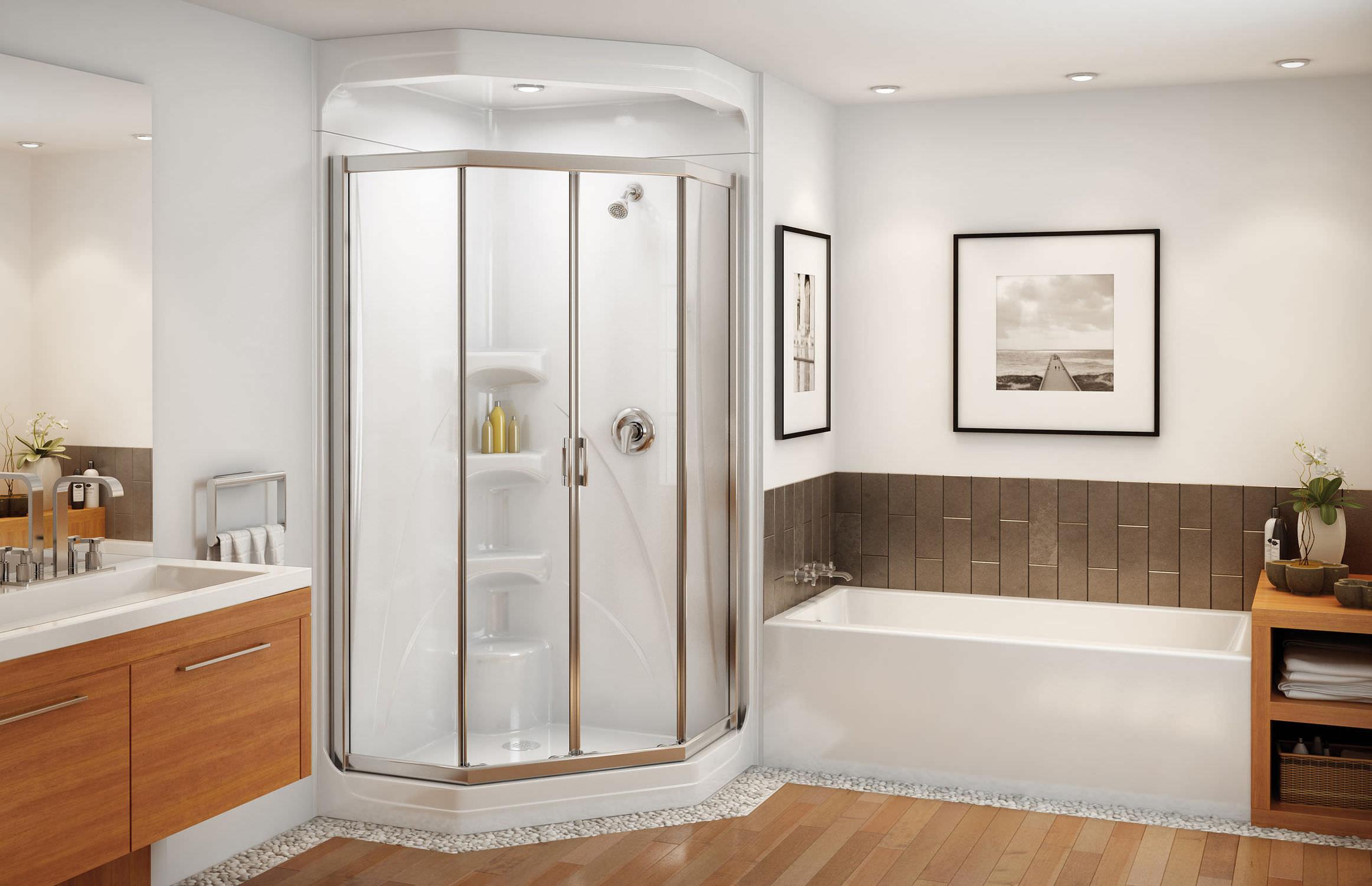 Free-standing bathtub - RUBIX 6030/6032 - MAAX bathroom