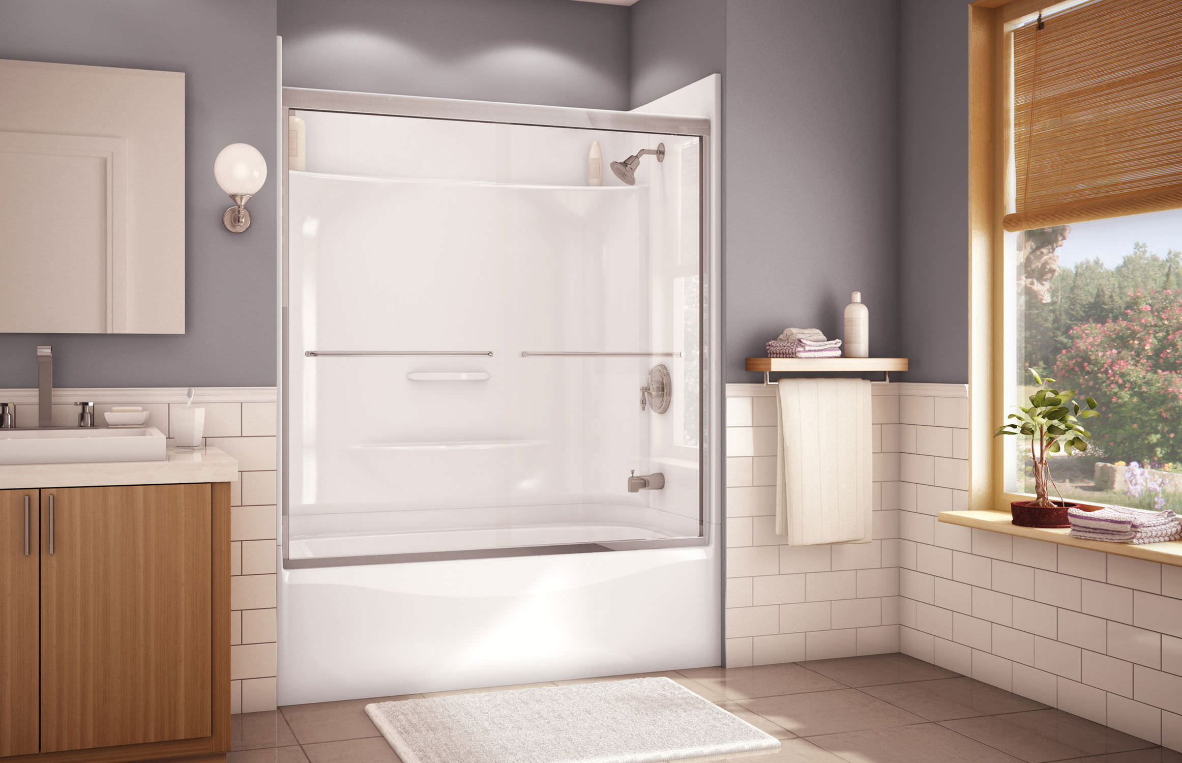 Built in bathtub shower combination   rectangular   acrylic ESSENCE TS 6032  MAAX  Built in bathtub shower combination   rectangular   acrylic  . Maax Tub Shower Combo. Home Design Ideas