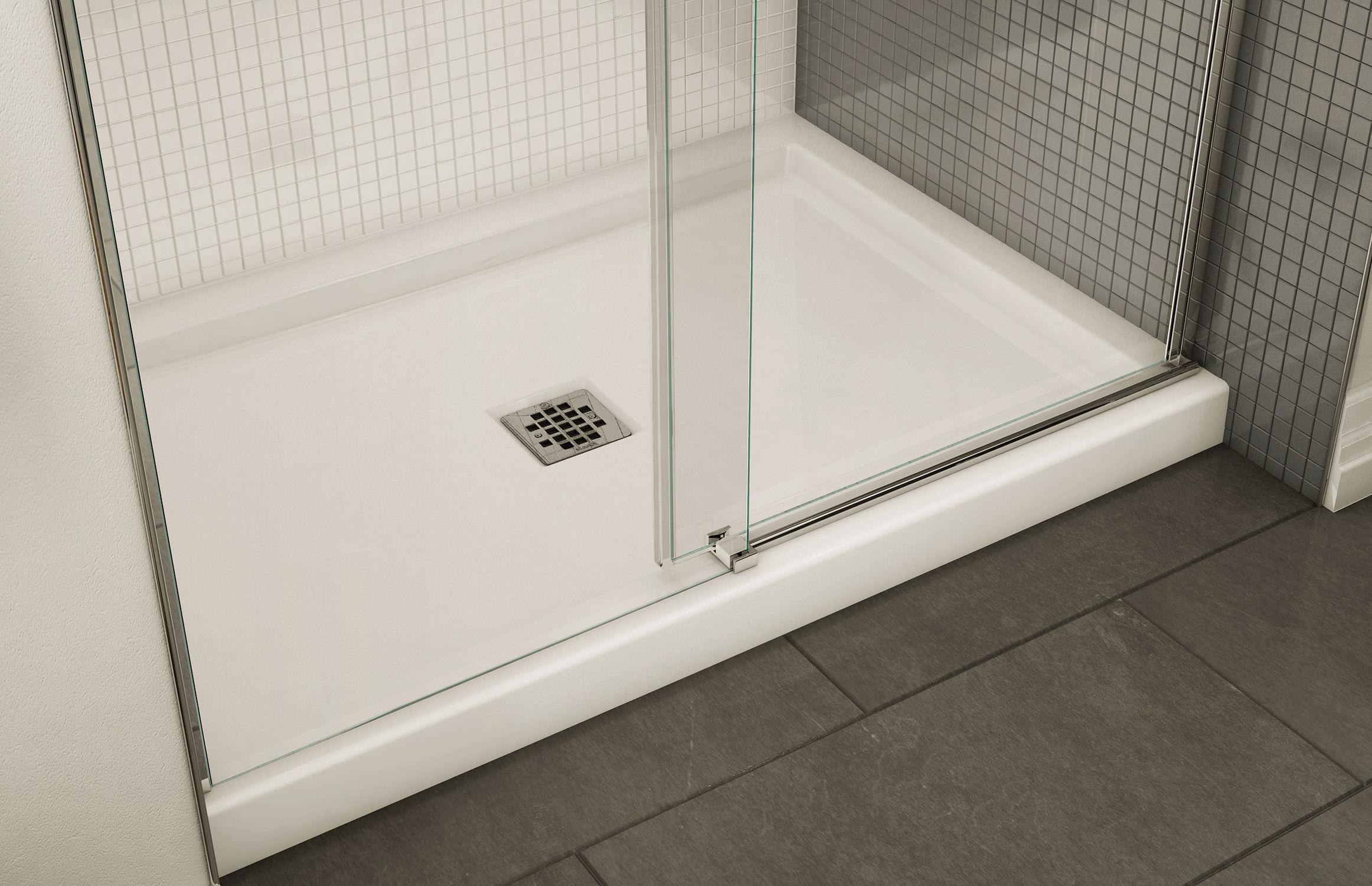 Rectangular shower base / acrylic - B3 - MAAX bathroom
