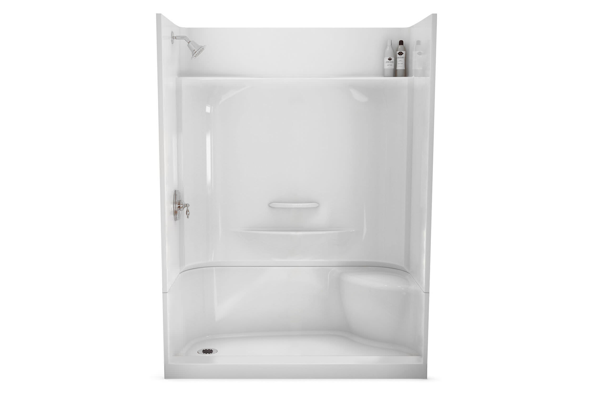 Rectangular shower base / acrylic - KDS 3060 - MAAX bathroom