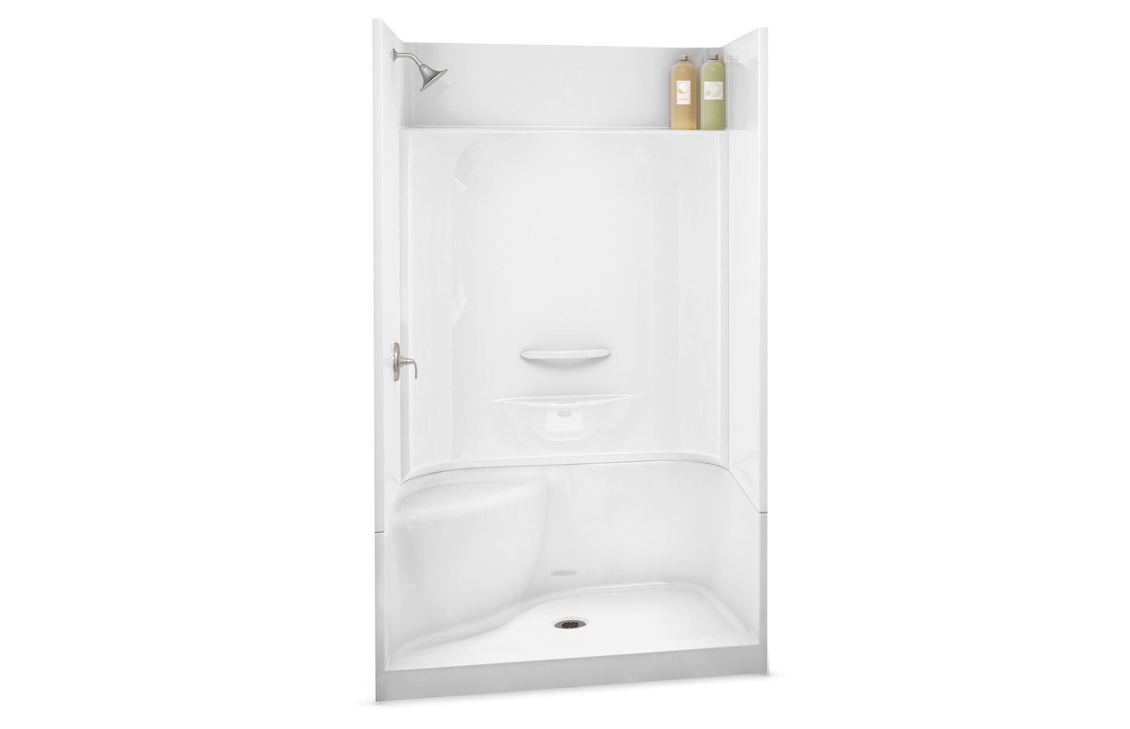 Acrylic shower cubicle / rectangular / with hinged door - KDS 3448 ...