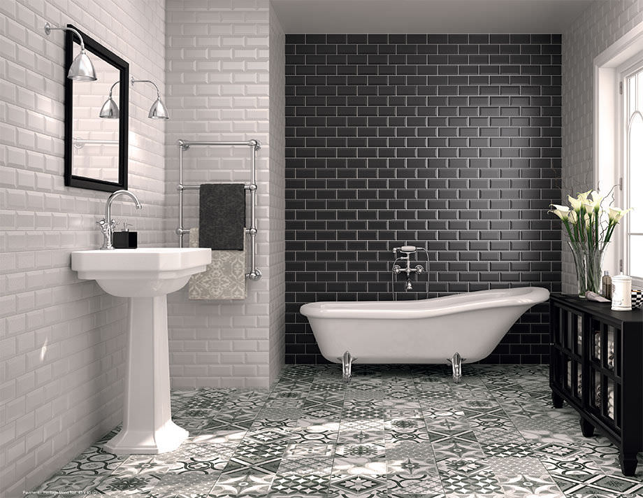 Indoor tile / bathroom / floor / ceramic - CLASSIC - TAU Cerámica