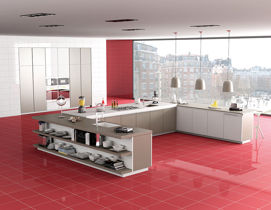 Indoor Tile Kitchen Floor Porcelain Stoneware Danxia