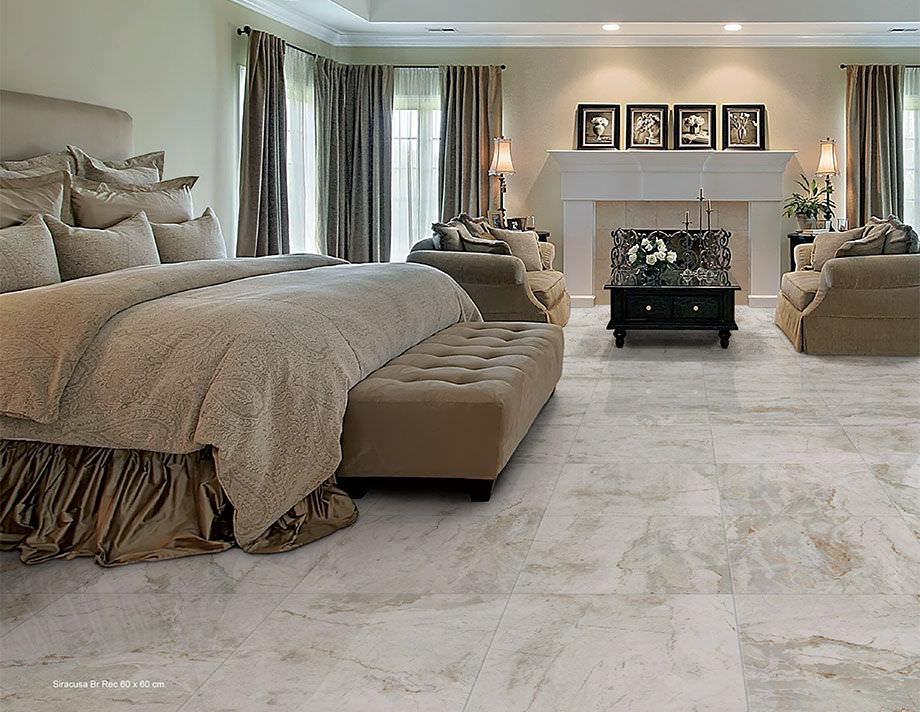 Indoor Tile Floor Porcelain Stoneware Polished Shine Tau