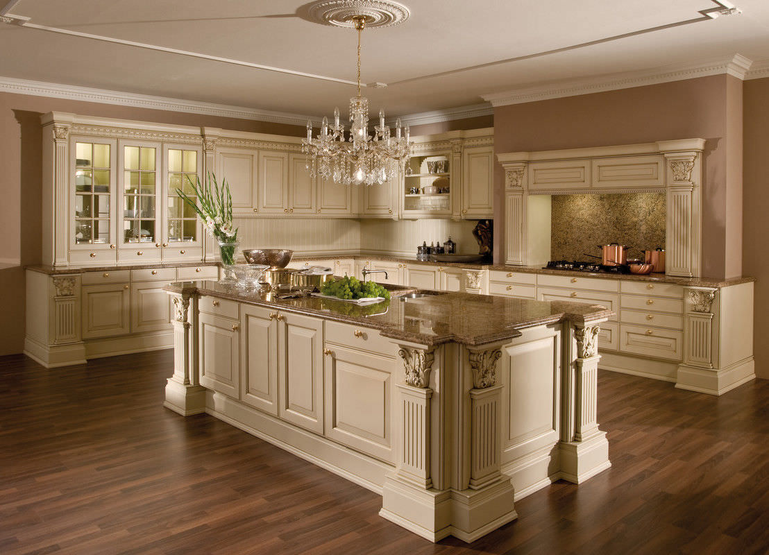 classic kitchen wooden island lacquered versailles de luxe rh archiexpo com  classic concepts argus kitchen island with zinc top