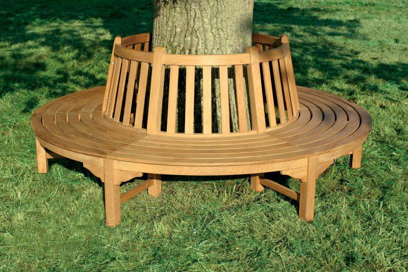 Garden bench traditional teak commercial Tectona