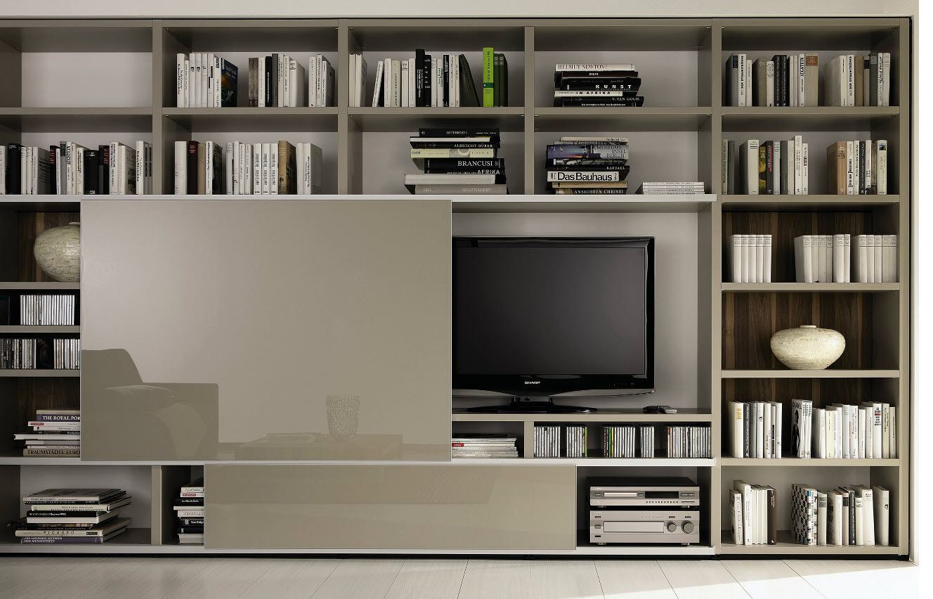11219 3132227 Jpg 1 328 852 Pinterest Placard  # Meuble Tv Salon Bibliotheque Classique