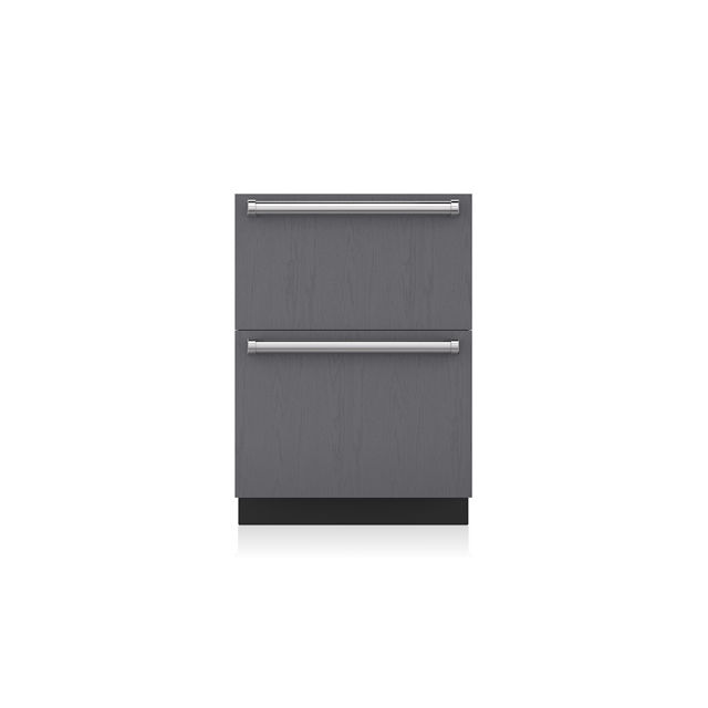 Undercounter Freezer / With Drawer / Gray / Energy Saving   ID 24FI