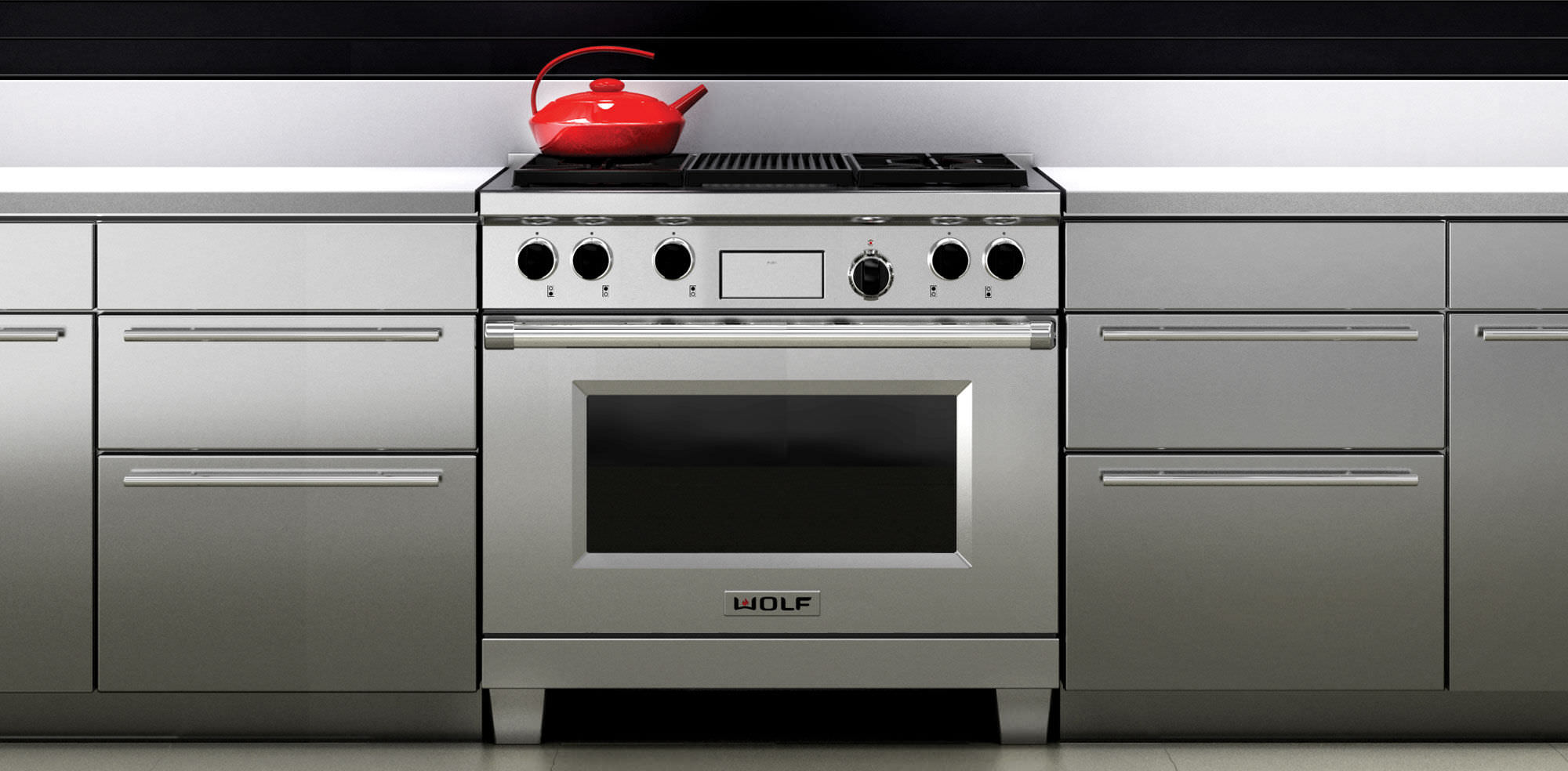 Gas range cooker / electric / dual-fuel - 36 - SUB-ZERO