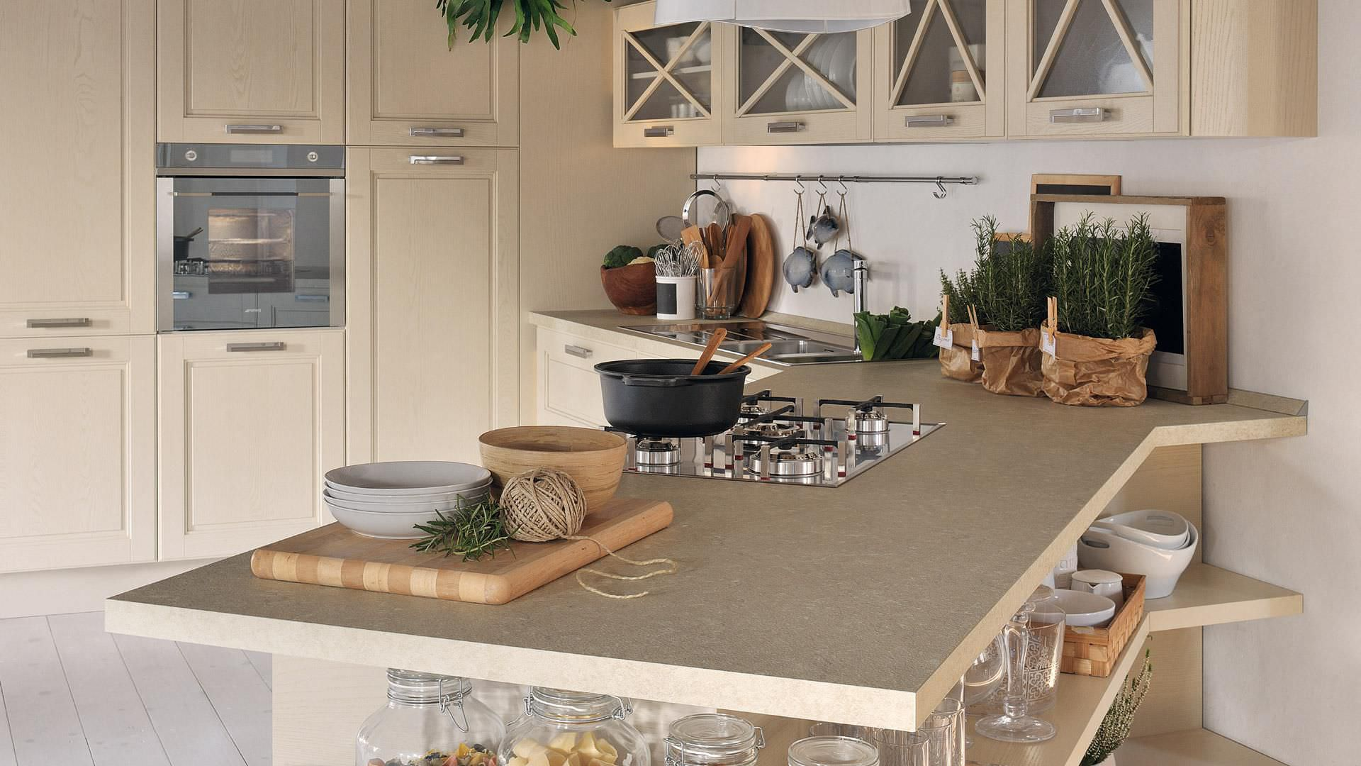 traditional kitchen / solid wood - agnese - cucine lube - Cucina Laura Lube