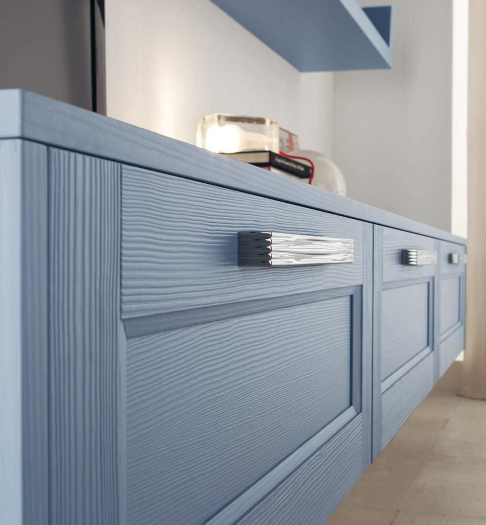 Wall-mounted shelf / traditional / wooden / kitchen - GEORGIA ...