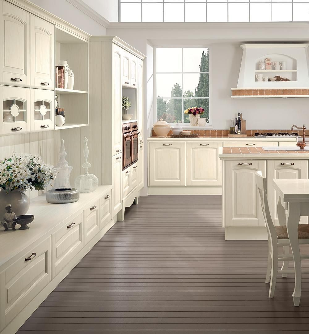Traditional kitchen / wooden / island - VERONICA - CUCINE LUBE