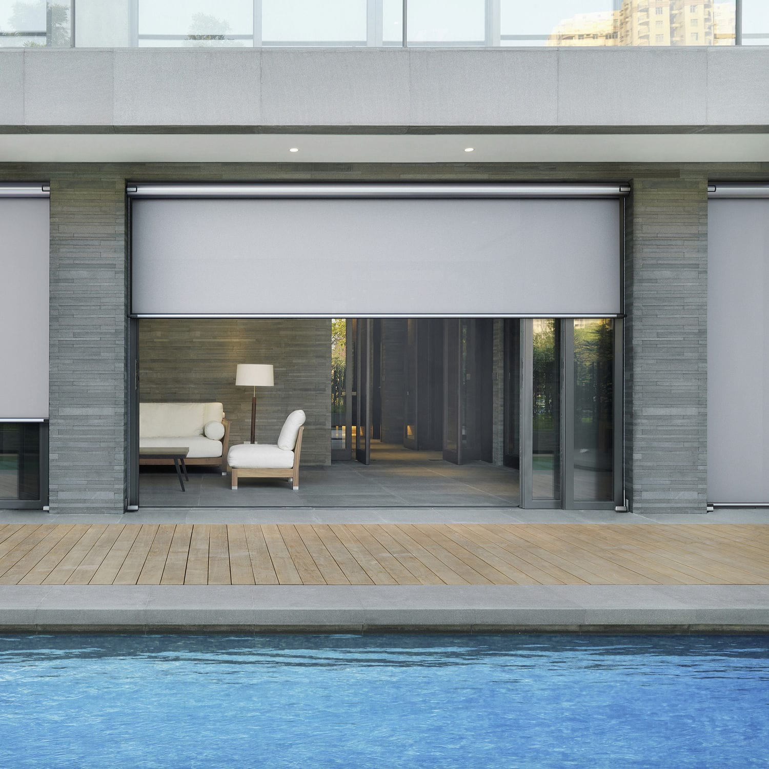 blind x blackout youtube black of blinds electric outdoor photo patio recessed out