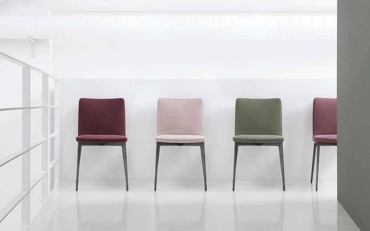 Beautiful ... Contemporary Chair / Upholstered / Fabric / Leather FLEXA By Bavuso  Giuseppe ALIVAR ... Pictures Gallery