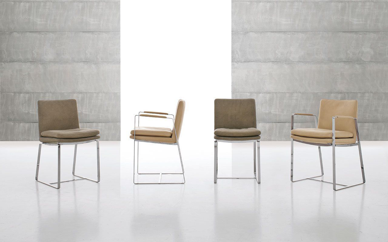 Perfect ... Contemporary Chair / Upholstered / With Armrests / Sled Base SHINE By Giuseppe  Bavuso ALIVAR Awesome Ideas