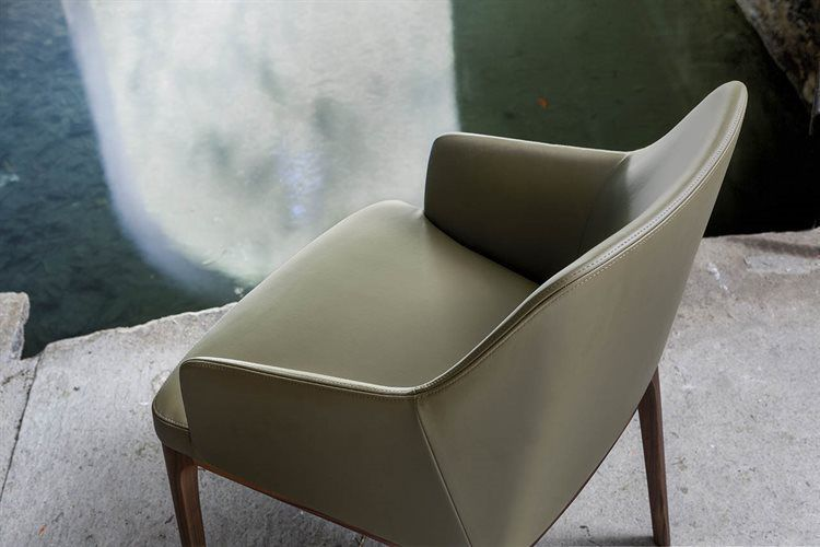 ... Contemporary Chair / Upholstered / With Armrests / Fabric AMANDA  COMFORT By Bavuso Giuseppe ALIVAR