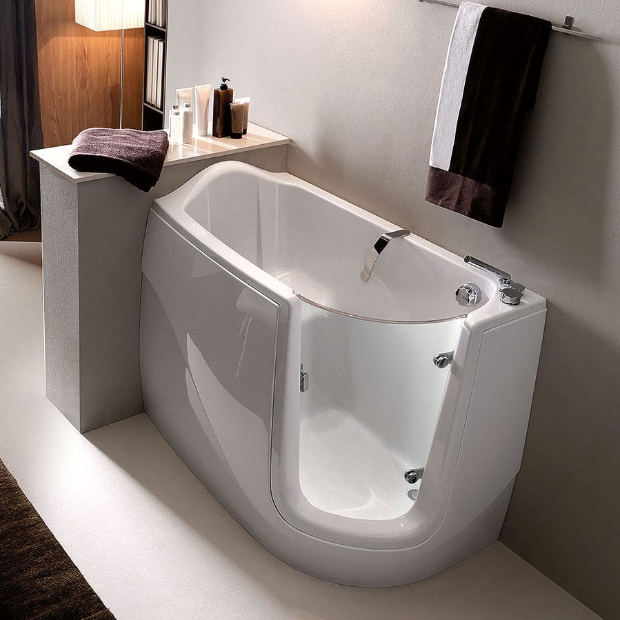 Charming Built In Bathtub / Corner / Acrylic / Handicapped   GEN X By Paolo Parea
