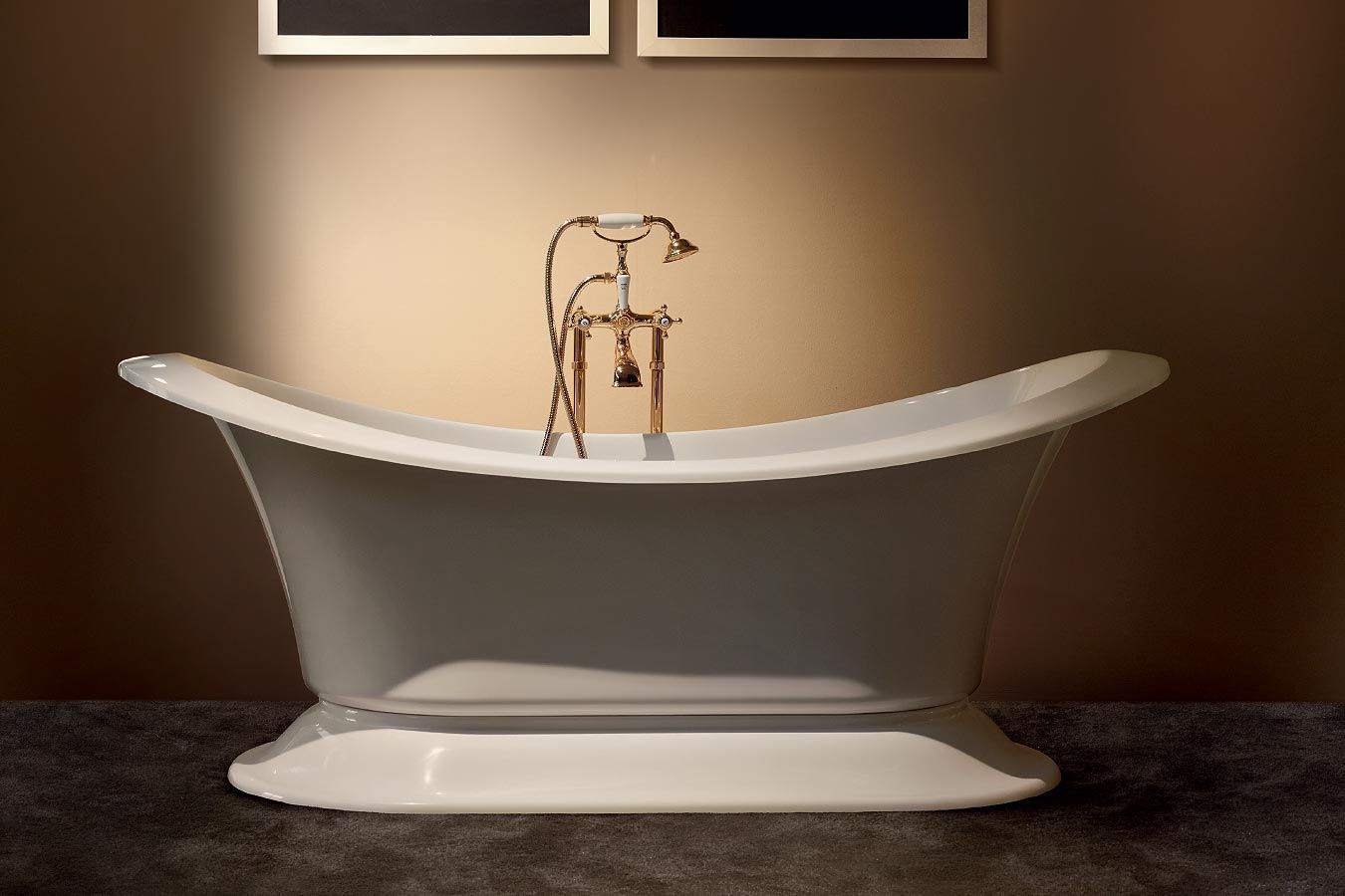 Free-standing bathtub / oval / acrylic - GRAND SOLEIL by Paolo Parea ...