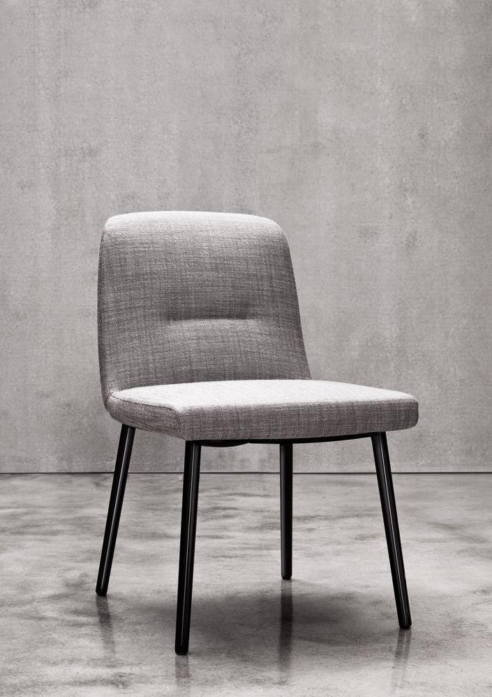 ... Contemporary Chair / Upholstered / Ergonomic / Fabric FLAVIN Minotti ...