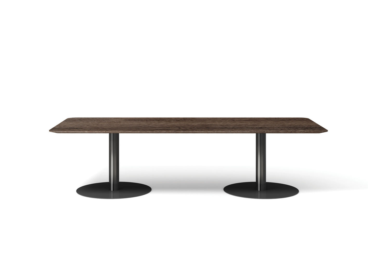 ... Contemporary Dining Table / Wooden / Metal / Rectangular BELLAGIO By  Gordon Guillaumier Minotti ...