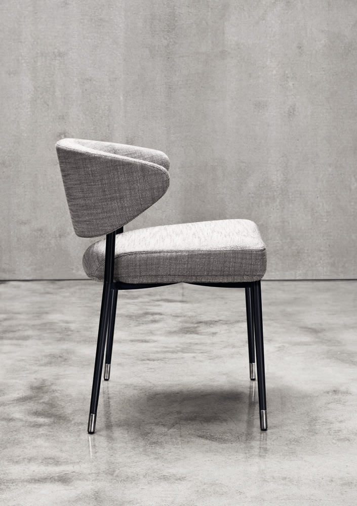 ... Contemporary Chair / Upholstered / Fabric / By Rodolfo Dordoni ...