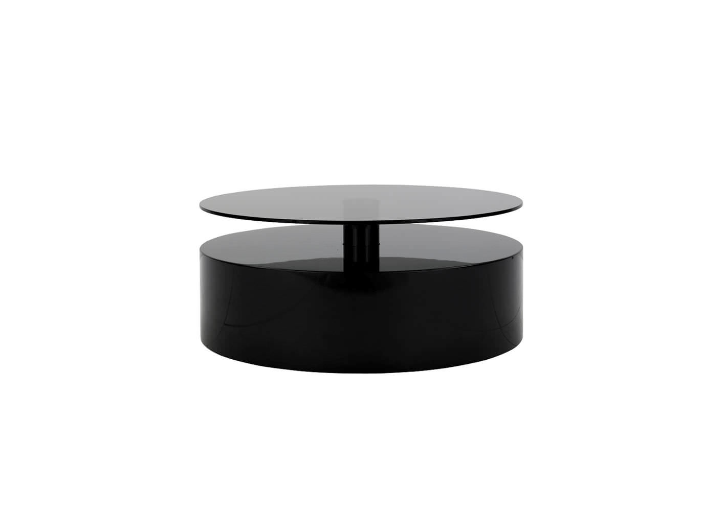 Glass Round Side Table Side Table Contemporary Glass Round Parrish Minotti