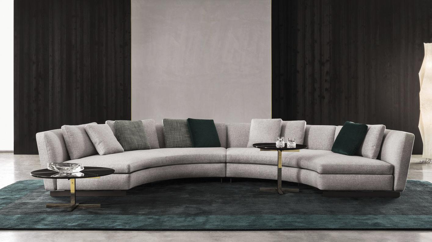 Modular Sofa Corner Semicircular Contemporary Seymour