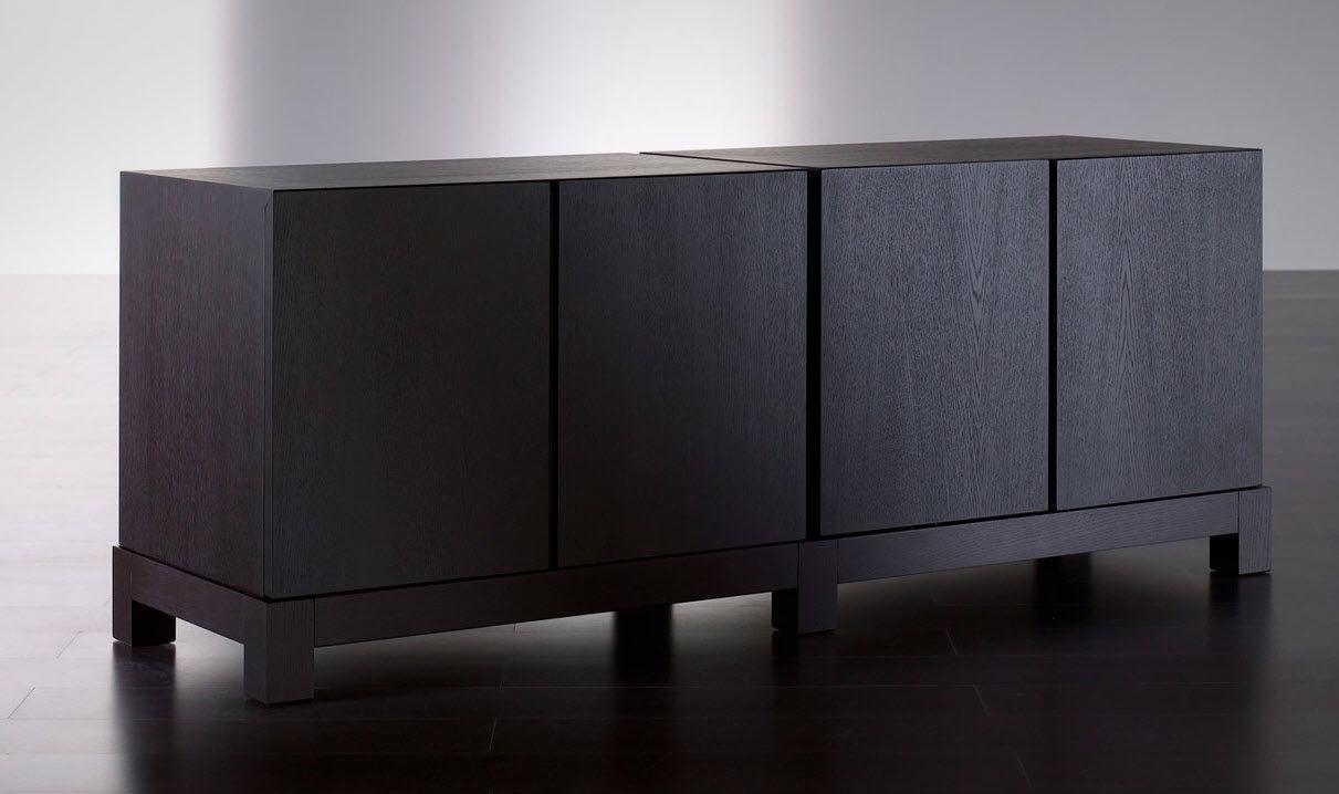 contemporary sideboard  wooden  douglas  meridiani - contemporary sideboard  wooden  douglas