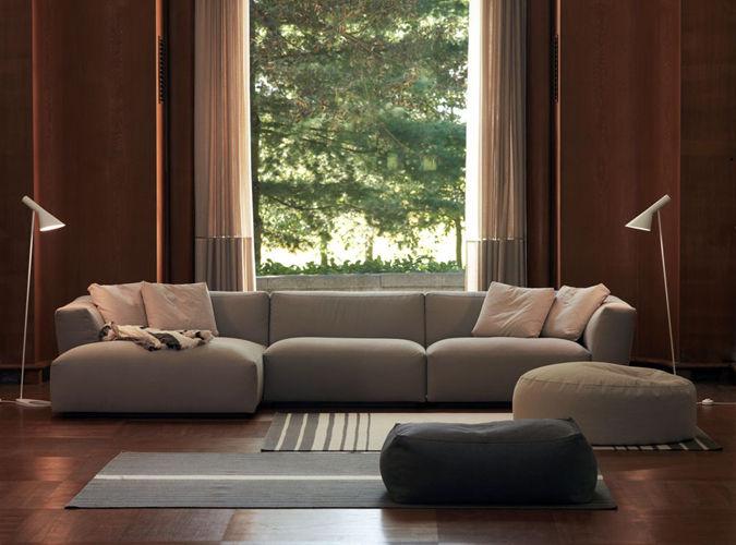 Exceptional Modular Sofa / Contemporary / Polyester Fiber / By Studio Lievore Altherr  Molina   ELLIOT