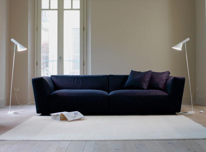 Contemporary Sofa / Fabric / By Studio Lievore Altherr Molina / 2 Person    ELLIOT