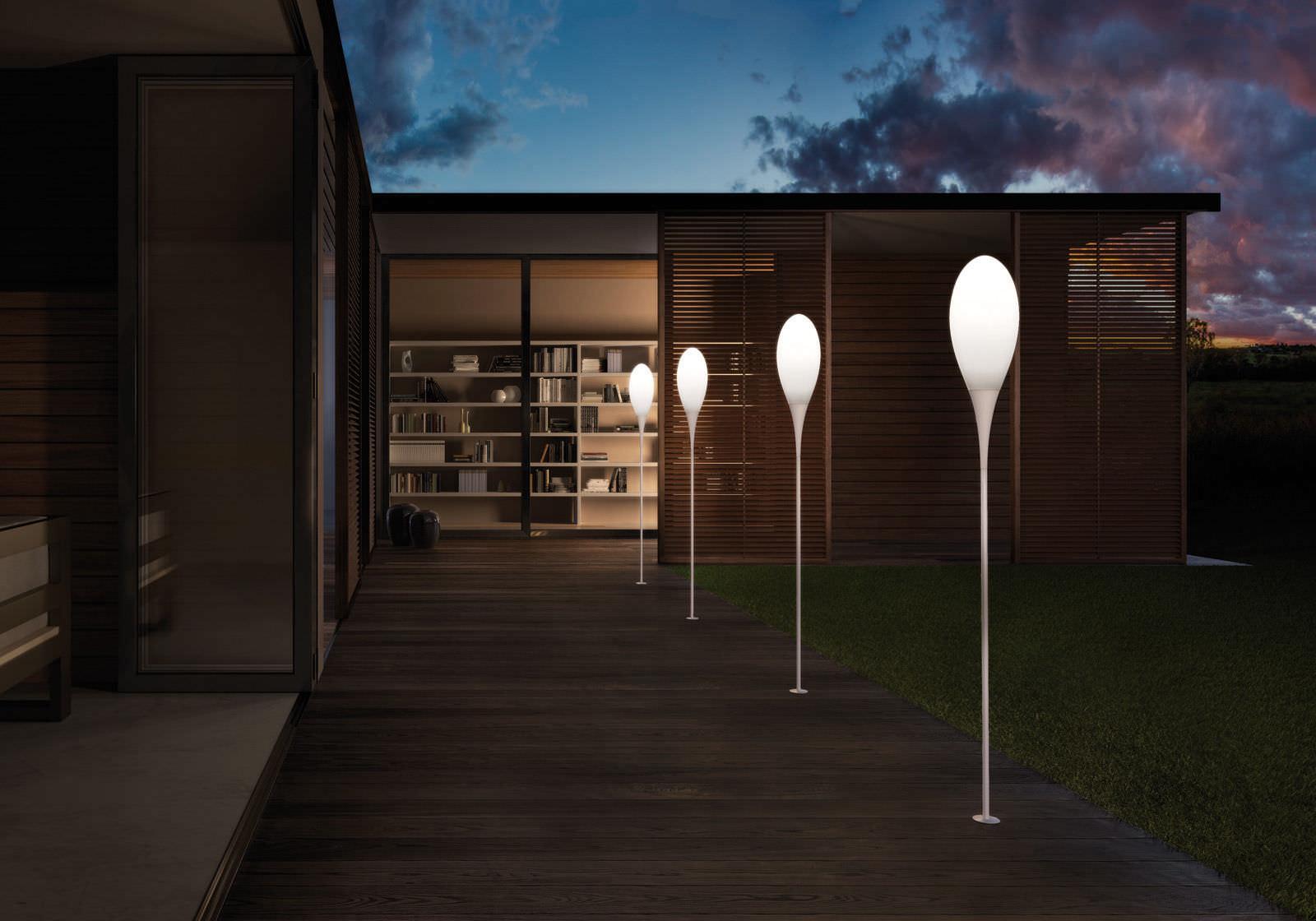 ... Floor-standing lamp / contemporary / polyethylene / outdoor SPILLO by  Constantin Wortmann Kundalini ...