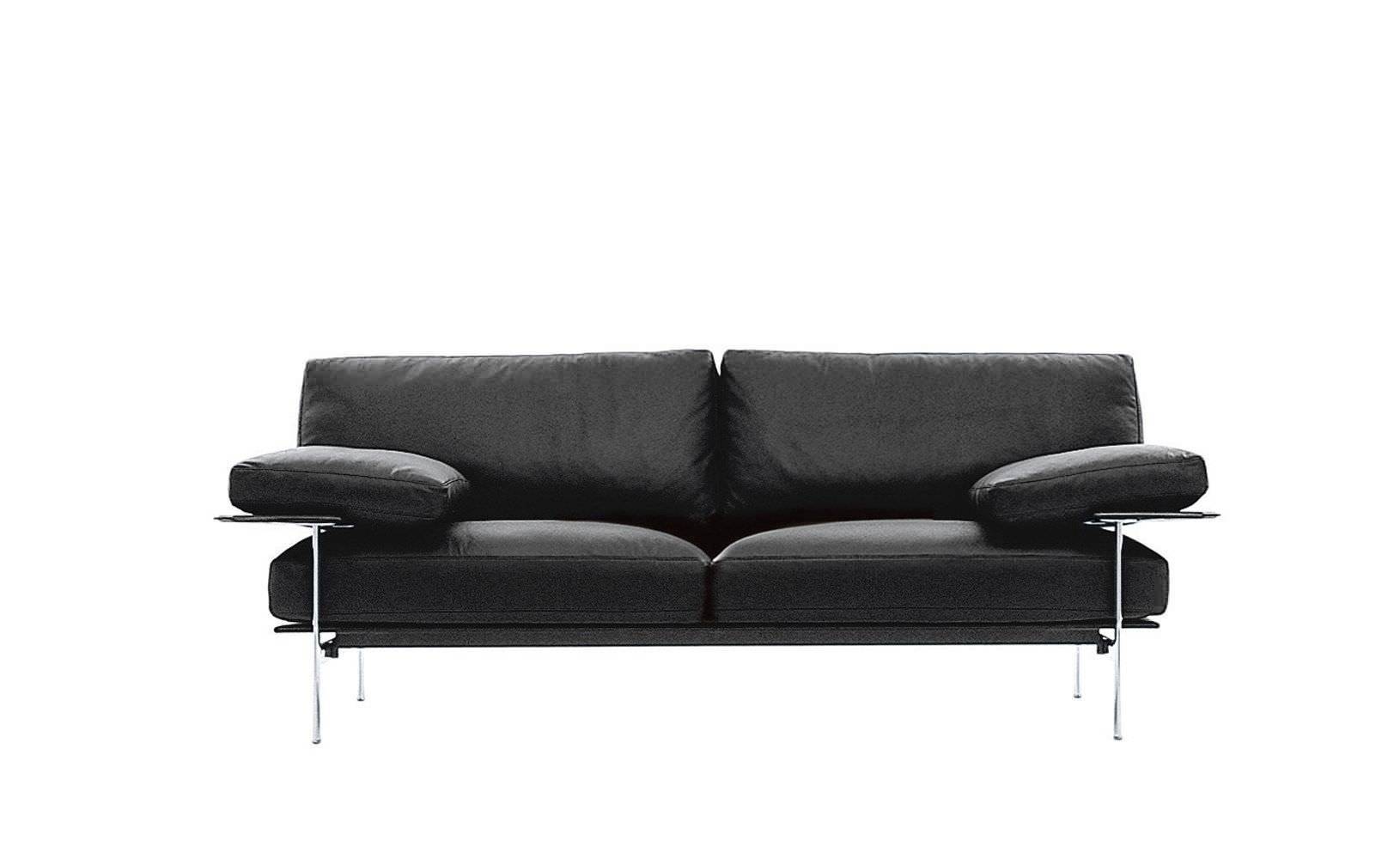 Contemporary sofa / leather / fabric / by Paolo Nava - DIESIS - B&B ...