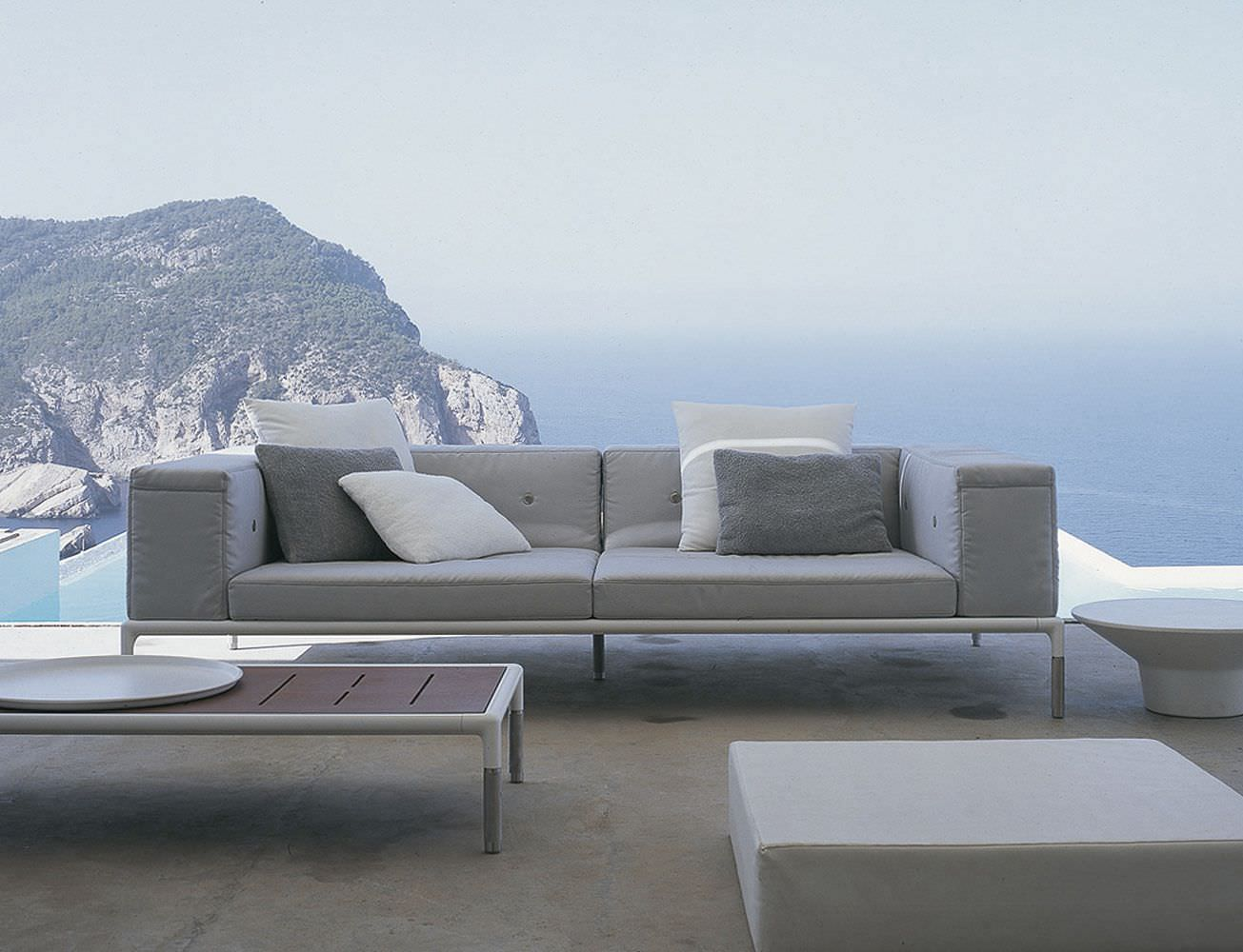 Contemporary Sofa / Garden / Fabric / By Jean Marie Massaud   SPRINGTIME