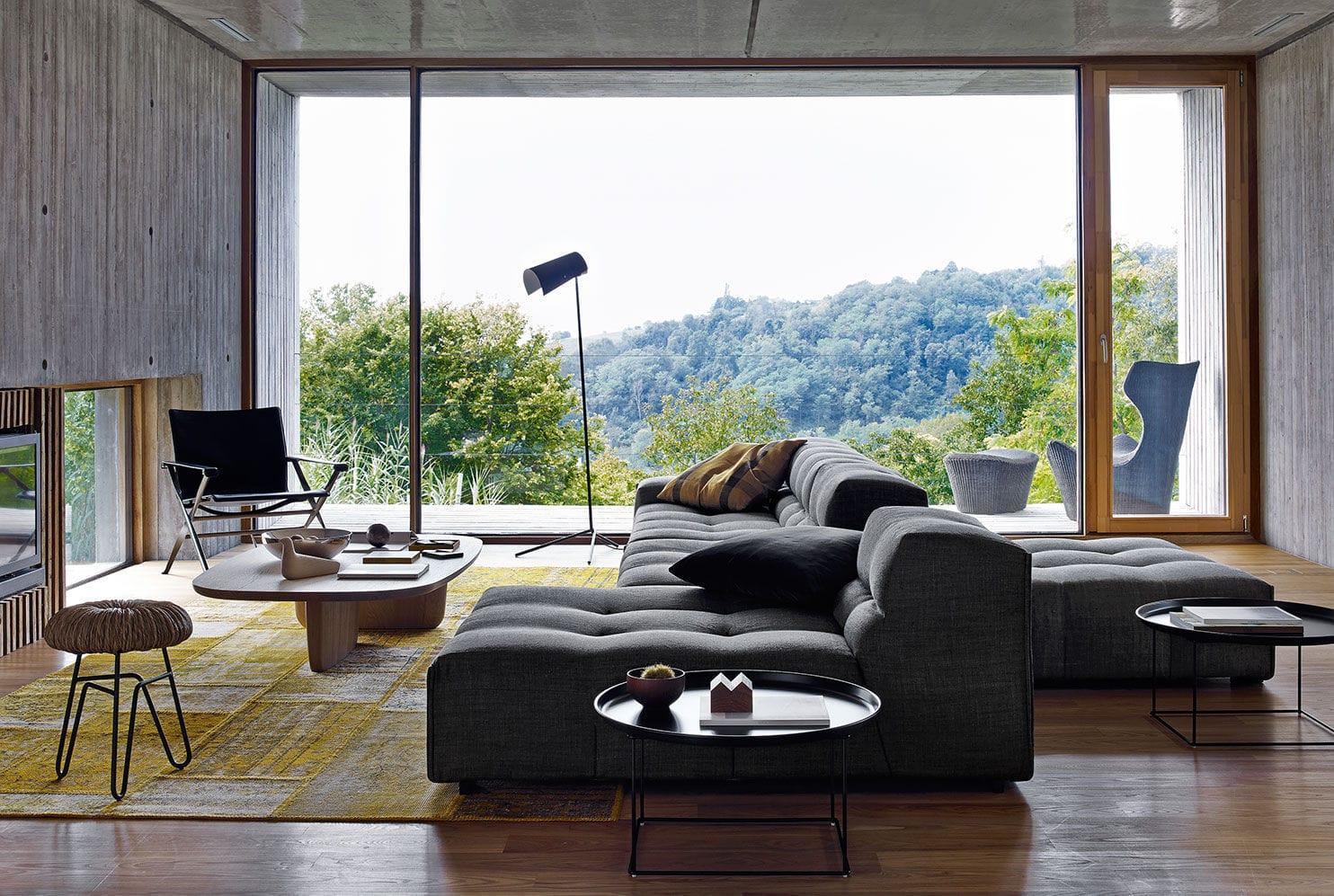 ... Modular Sofa / Contemporary / Leather / Fabric ...