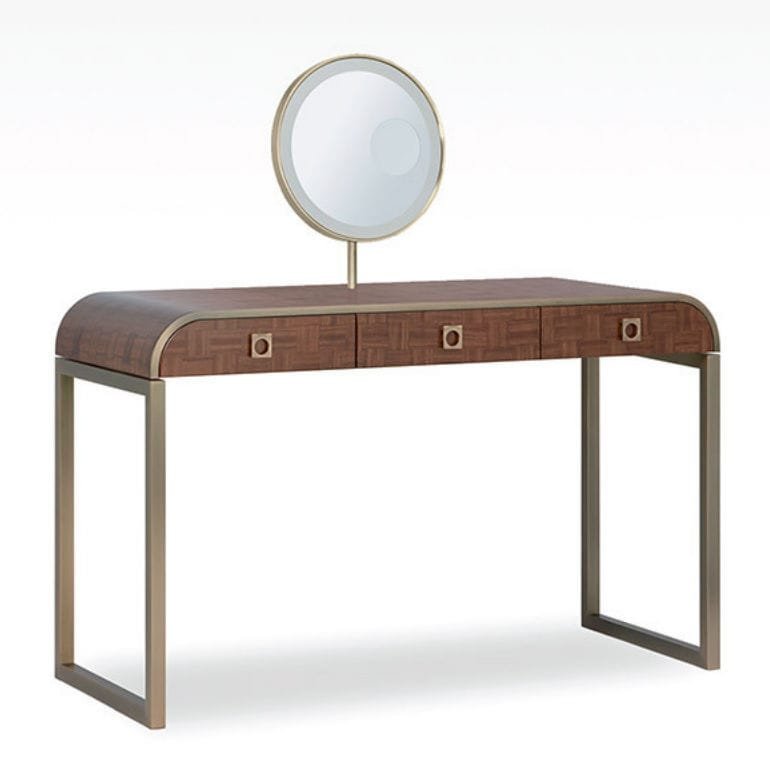 contemporary dressing table / wooden / metal - glam - giorgio