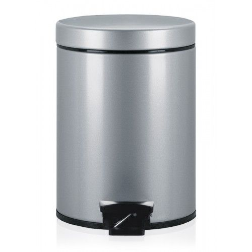 Kitchen Trash Can Metal Foot Operated Contemporary 246623