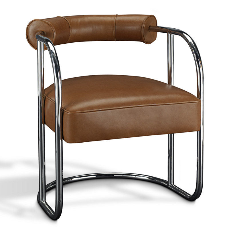 Contemporary Dining Chair Cantilever Leather City Modern