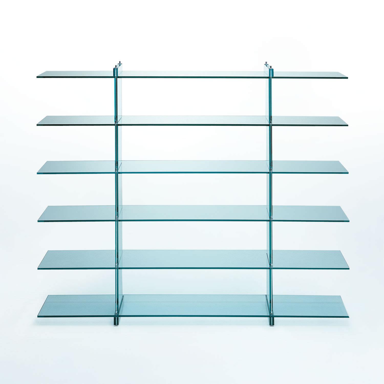 Design Glass Shelves contemporary shelf glass teso by renzo piano fontanaarte fontanaarte